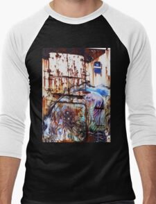 Rust on the side of the ship Men's Baseball ¾ T-Shirt