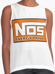 Nos Energy Drink Logo (Nitrous Oxide Systems)  Contrast Tank