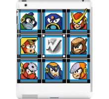 Megaman 2 Boss Select iPad Case/Skin