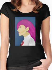 Painting Series - Jessie  Women's Fitted Scoop T-Shirt
