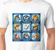 Megaman 2 Boss Select Unisex T-Shirt