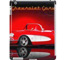 1958 Corvette Roadster 'Reflections' iPad Case/Skin