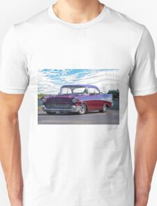 1957 Chevrolet Bel Air 'Wine Country' Unisex T-Shirt