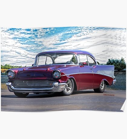 1957 Chevrolet Bel Air 'Wine Country' Poster