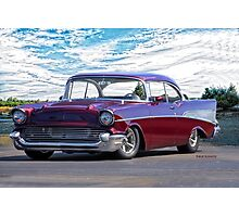 1957 Chevrolet Bel Air 'Wine Country' Photographic Print