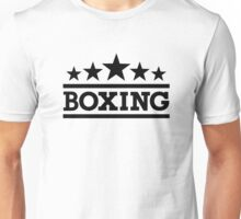 Boxing sports Unisex T-Shirt