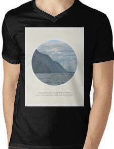 It Ends at the Water Mens V-Neck T-Shirt