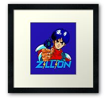 ZILLION ANIME - J.J. Framed Print