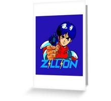 ZILLION ANIME - J.J. Greeting Card