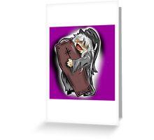 Black Butler Chibies - Undertaker Greeting Card