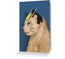 Painting Series - Meowth Greeting Card