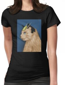 Painting Series - Meowth Womens Fitted T-Shirt