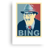 BING! Canvas Print