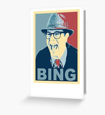 BING! Greeting Card
