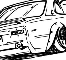 Crazy Car Art 0025 Sticker