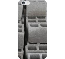 Concrete Blocks at a Construction Site iPhone Case/Skin