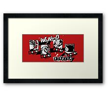 P5 - Wanted Framed Print