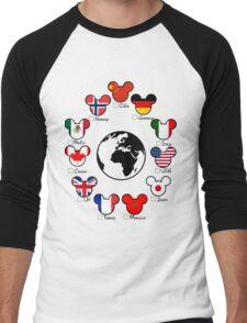 Epcot Men's Baseball ¾ T-Shirt