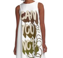 Can you not? A-Line Dress