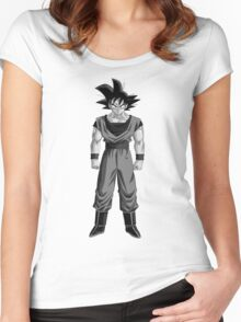 Son Goku Dragon Ball Women's Fitted Scoop T-Shirt