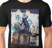 Graffiti, Rust and inherent beauty Unisex T-Shirt