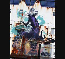 Graffiti, Rust and inherent beauty Unisex T-Shirt