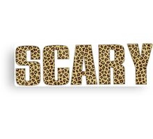 Scary Spice Canvas Print