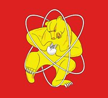Bear Splitting Atom Zheleznogorsk Flag Unisex T-Shirt