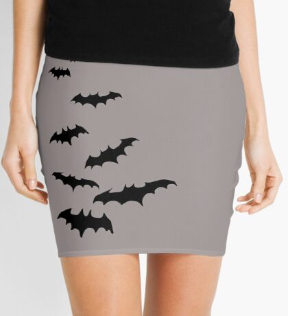 Bats! Mini Skirt