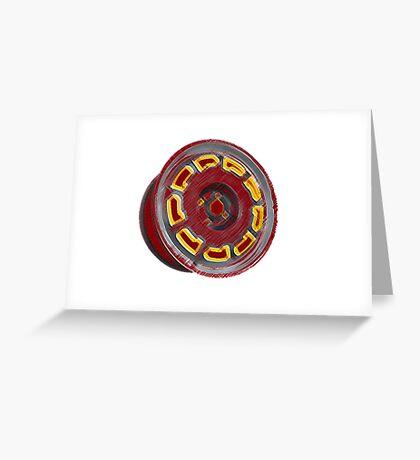 Rim tribute Greeting Card