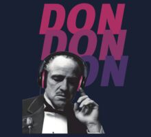 VITO CORLEONE HEADPHONE - GODFATHER Kids Tee