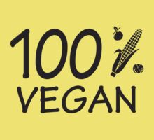 100 % vegan by nektarinchen