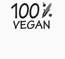 100 % vegan Womens Fitted T-Shirt