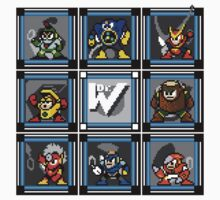 Megaman 2 Boss Select (with Sprites) T-Shirt