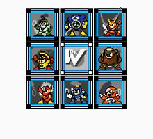 Megaman 2 Boss Select (with Sprites) Unisex T-Shirt