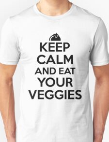 Keep calm and eat your veggies T-Shirt