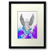 And Suddenly I Sprouted Wings Framed Print