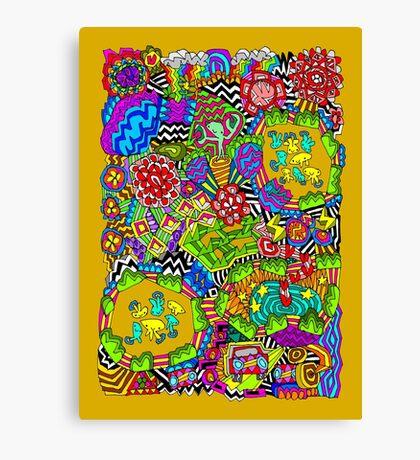 Hypercolour Wonderland! Canvas Print