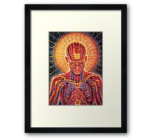 Psicodelic Men . Item for party Framed Print