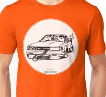 Crazy Car Art 0028 Unisex T-Shirt