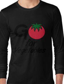 Go for Vegetables Long Sleeve T-Shirt