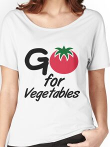 Go for Vegetables Women's Relaxed Fit T-Shirt