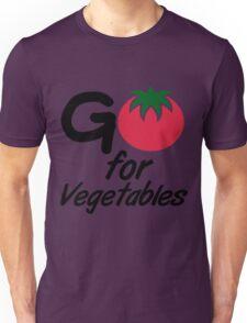 Go for Vegetables Unisex T-Shirt