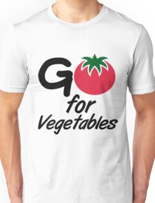 Go for Vegetables Unisex T-Shirt