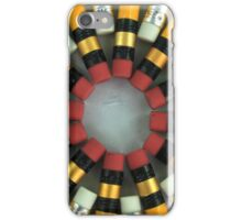 Blue and Yellow Pencil Erasers iPhone Case/Skin
