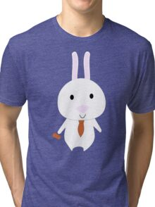 Mr. Bunny Tri-blend T-Shirt