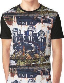See, Hear, Speak no Evil Graphic T-Shirt