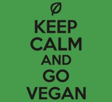 Keep calm and go vegan by nektarinchen
