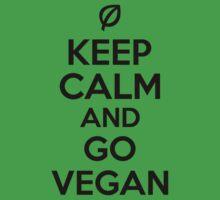 Keep calm and go vegan by nektarinchen