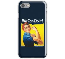 We Can Do It - Rosie the Riveter iPhone Case/Skin